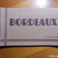 Postales: BORDEAUX(FRANCIA) LIBRILLO CON 10 POSTALES,EDIC.LA CIGOGNE,AÑOS 30.. Lote 289350558