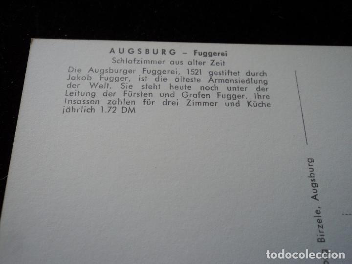 Postales: Augsburg - fuggerei, luftaufnahme,es el proyecto de vivienda social conocido más antiguo del mundo - Foto 2 - 289679463