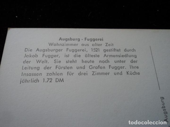 Postales: Augsburg - fuggerei, luftaufnahme,es el proyecto de vivienda social conocido más antiguo del mundo - Foto 2 - 289679723