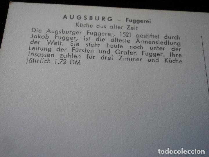 Postales: Augsburg - fuggerei, luftaufnahme,es el proyecto de vivienda social conocido más antiguo del mundo - Foto 2 - 289679863