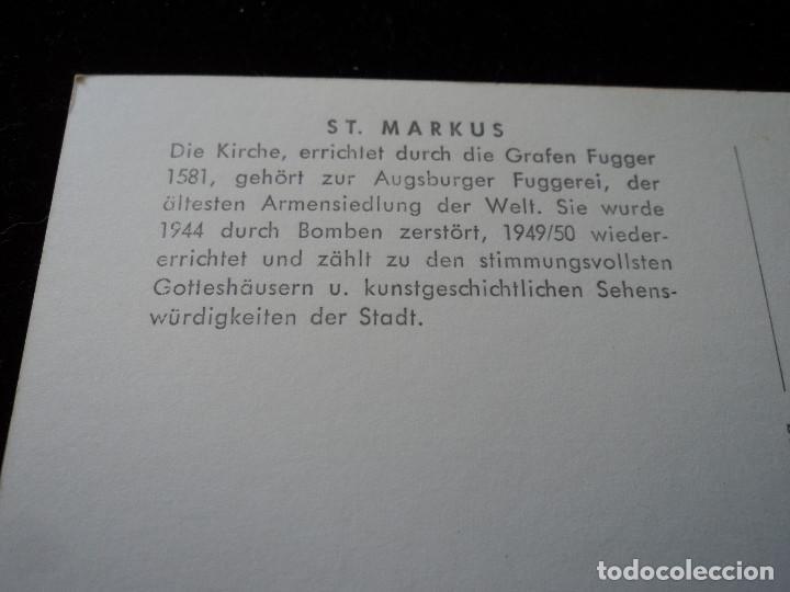 Postales: Augsburg - fuggerei, luftaufnahme,es el proyecto de vivienda social conocido más antiguo del mundo - Foto 2 - 289680418