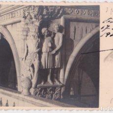 Postales: ITALIA, VENEZIA, PALACIO DUCAL, HIJOS DE NOE (SAM Y SEM) - CIRCULADA 1934. Lote 289698538