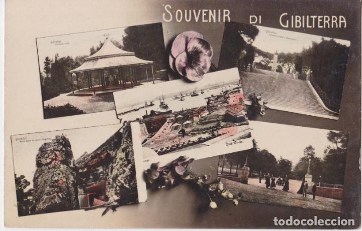 GIBRALTAR /GIBILTERRA - SOUVENIR DI GIBILTERRA - MADE IN ITALY - SIN CIRCULAR (Postales - Postales Extranjero - Europa)