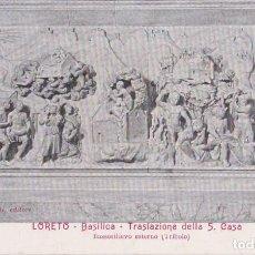 Postales: ITALIA, LORETO,BASÍLICA, TRASLAZIONE DELLA SANTA CASA (SANSOVINO) - BRANCONDI EDITORE - S/C. Lote 289698773
