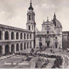 Postales: ITALIA, LORETO, PLAZA DEL SANTUARIO - ALTEROCCA 0517 - CIRCULADA 1962. Lote 289700243