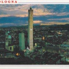 Postales: ITALIA, BOLOGNA / BOLONIA, VISTA GENERAL, NOCTURNA - CABICAR - CIRCULADA. Lote 289700478