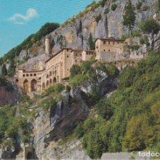 Postales: ITALIA, SUBIACO, SACRO SPECO DI S.BENEDETTO - PLURIGRAF 164 - ESCRITA. Lote 289700548