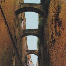 Postales: ITALIA, ALGHERO / ALGUER, VIA MAJORCA - FOTOCOLOR 6882 - CIRCULADA. Lote 289700753