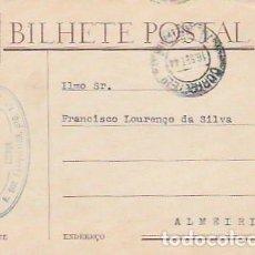 Postales: PORTUGAL & BILHETE POSTAL, MARQUES & RODRIGUES LDA, LISBOA A ALMEIRIM 1944 (34445. Lote 289702623