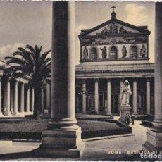 Postales: ROMA, BASÍLICA DI S. PAOLO – STAB.GRAFICO CESARE CAPELLO – S/C. Lote 289864058