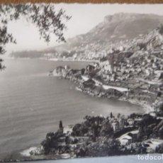 Postales: MONTE CARLO - LA COTER D`AZUR. Lote 289900903