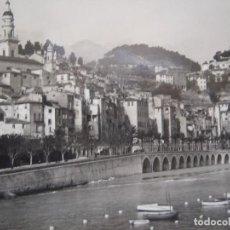 Postales: MENTON - LA COTE D'AZUR. Lote 289901223