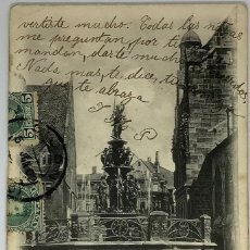 Postales: ALEMANIA NUREMBERG, POSTAL CIRCULADA A GIJÓN 1902. Lote 289901278