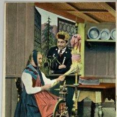 Postales: POSTAL HILANDERA SELVA NEGRA SCHWARTZWALD. CIRCULADA 1906. Lote 289903648
