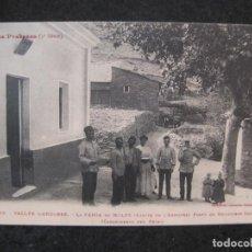Postales: ANDORRA-LA FARGA DE MOLES-CARABINEROS DEL REINO-POLICIAS-LF 1052-POSTAL ANTIGUA-(84.940). Lote 293509198