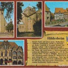 Postais: ALEMANIA, BAJA SAJONIA, HILDESHEIM, EDIFICIOS DE LA CIUDAD – HERST 3200 – S/C. Lote 293643218