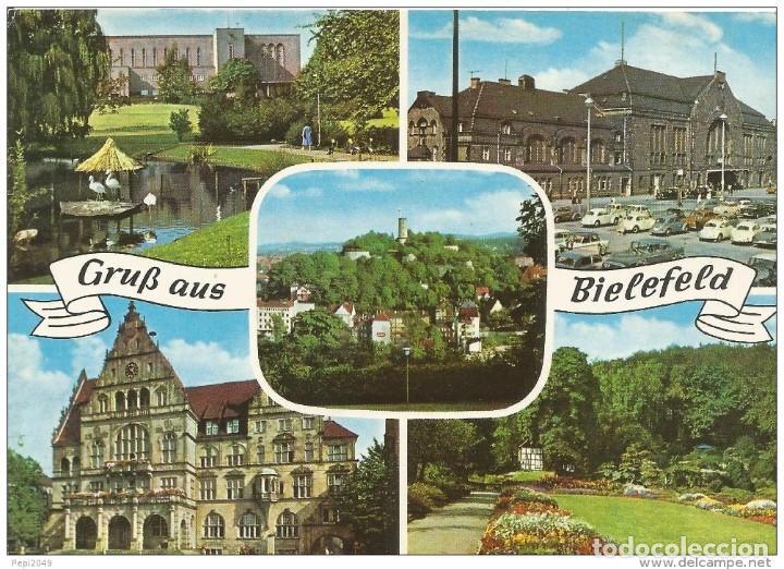 *** PR1056 - POSTAL - GRUB AUS BIELEFELD (Postales - Postales Extranjero - Europa)