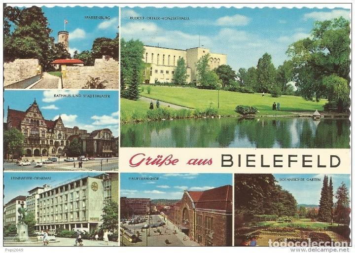 *** PR1055 - POSTAL - GRUB AUS BIELEFELD (Postales - Postales Extranjero - Europa)