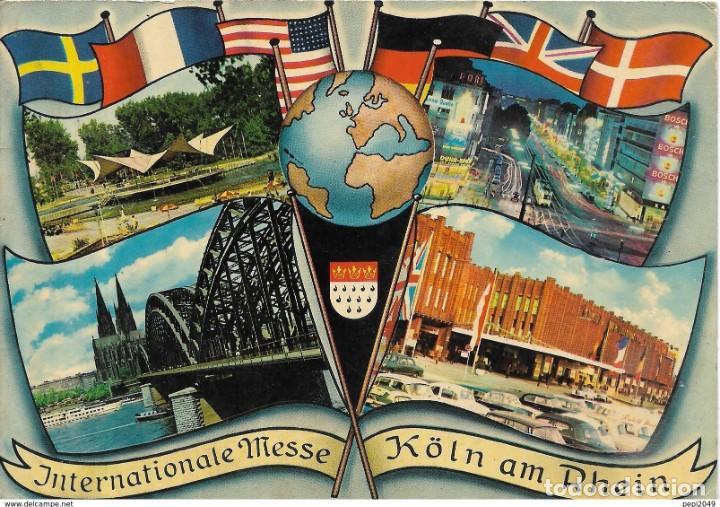 *** PN177 - POSTAL - INTERNATIONALE MESSE KÖLN AM RHEIN (Postales - Postales Extranjero - Europa)