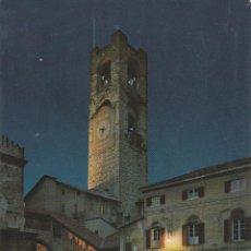 Postais: ITALIA, BERGAMO, FONTANA CANTARINI E TORRE DEL COMUNE – MUZIO 5211 – S/C. Lote 293942533