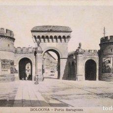 Postales: BOLONIA. PUERTA ZARAGOZA. NUEVA. BLANCO/NEGRO. Lote 294498813