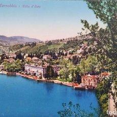 Postales: LAGO COMO. CERNOBBIO-VILLA D'ESTE. NUEVA. COLOR. Lote 294498848