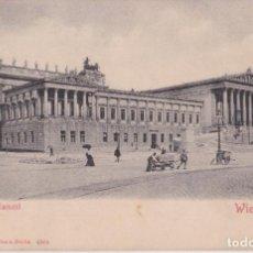 Postales: AUSTRIA, VIENA, PARLAMENTO – STENGEL & CO. 4504 – S/C – SIN DIVIDIR. Lote 295300173