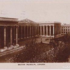 Postales: INGLATERRA, LONDRES, BRITISH MUSEUM – CIRCULADA 1924. Lote 295300498