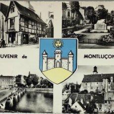 Postales: FRANCIA, SOUVENIR DE MONTLUÇON, ALLIER. COMBIER.. Lote 295307348
