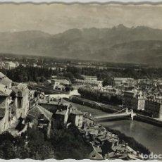 Postales: FRANCIA, GRENOBLE, VUE GENERALE. YVON. CIRCULADA 1954.. Lote 295310188