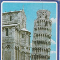 Postales: ITALIA, PISA, LA TORRE PENDENTE BAJO LA NIEVE – GARAMI 66 – S/C. Lote 295368788