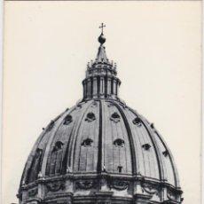 Postales: ITALIA, ROMA, VATICANO, CUPULA MIGUEL ANGEL – ED.ESTAMPERIA DE ARTE – S/C. Lote 295369018