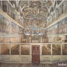 Postales: ITALIA, VATICANO, CAPILLA SIXTINA, INTERIOR – FOTORAPIDACOLOR 307 – S/C. Lote 295369203