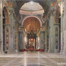 Postales: ITALIA, VATICANO, INTERIOR BASÍLICA S.PEDRO – MA.PI.R 140 – S/C. Lote 295369368