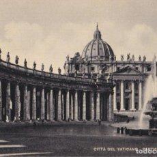 Postales: ITALIA, VATICANO, PLAZA S.PEDRO, PARTICOLARE – S.G.CESARE CAPELLO – S/C. Lote 295369598