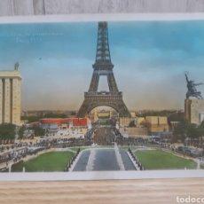 Postales: ANTIGUA POSTAL DE PARÍS. Lote 295398278