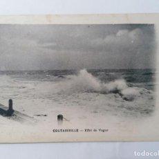 Postales: POSTAL COUTAINVILLE - EFECTO ONDA , CIRCULADA 1920. Lote 296712528