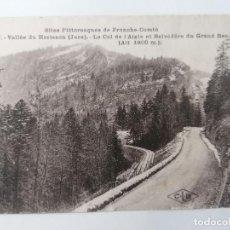 Postales: POSTAL VALLEE DU HERISSON, SITIOS PINTORESCOS DE FRANCHE-COMTE. Lote 296716268