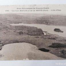 Postales: POSTAL LAGOS MACLUS, SITIOS PINTORESCOS DE FRANCHE-COMTE. Lote 296721228