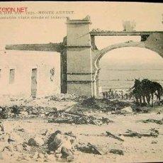 Postales: MONTE ARRUIT - CAMPAÑA DEL RIF 1921- GUERRA DE MARRUECOS PROTECTORADO ESPAÑOL - IMPRESIONANTE. Lote 25599789