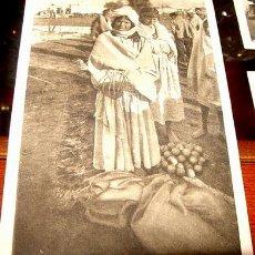 Postales: ANTIGUA POSTAL DE MARRUECOS - FOTO ROISIN - TIPOS DE MORAS. Lote 125592