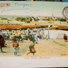 Postales: ANTIGUA POSTAL DE MARRUECOS - PROTECTORADO ESPAÑOL - TANGER. Lote 940325