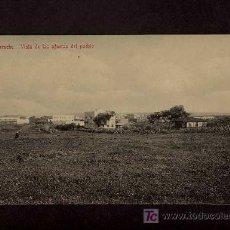 Postales: POSTAL DE LARACHE: VISTA DE LAS AFUERAS DEL PUEBLO (ED.TADDEI NUM.37). Lote 3334594