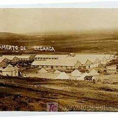 Postales: MARRUECOS. CAMPAMENTO DE CEGANGA. . ESCRITA EN 1914. Lote 3915777
