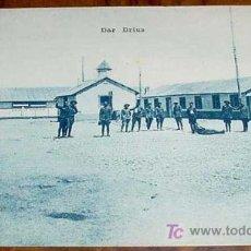 Postales: ANTIGUA FOTO POSTAL DE CAMPAÑA DE ESPAÑA EN MARRUECOS - GUERRA DEL RIF - CAMPAMENTO DE DAR DRIUS - M. Lote 4193676