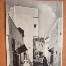 Postales: TANGER - MONTÉE DE LA CASBAH - EN Y SIN CIRCULAR. Lote 11429489
