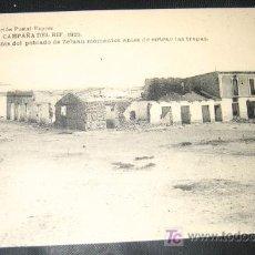 Postales: ANTIGUA POSTAL - CAMPAÑA DEL RIF - 1921 - RESTOS DEL POBLADO DE ZELUAN MOMENTOS ANTES DE ENTRAR LAS . Lote 25062823