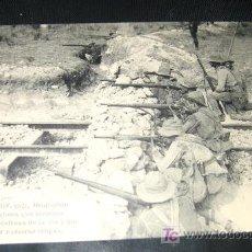 Postales: ANTIGUA POSTAL - CAMPAÑA DEL RIF - 1921 - OCUPACION DE ZELUAN TRINCHERA QUE HICIERON LOS MOROS PARA . Lote 17773304