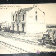 Postales: ANTIGUA POSTAL - CAMPAÑA DEL RIF - 1921 - ESTACION DE ZELUAN - EDICION POSTAL EXPRES - FOTOTIPIA HA. Lote 16649055