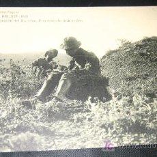 Postales: ANTIGUA POSTAL - CAMPAÑA DEL RIF - 1921 - OCUPACION DEL HARCHA ESCRIBIENDO UNA ORDEN - FOTOTIPIA HAU. Lote 24627054